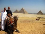 Gary & Peggy, Giza Pyramids, Egypt