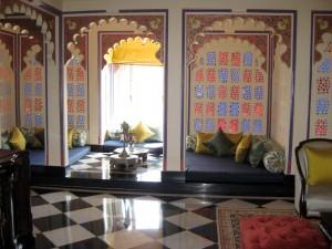 Udai Mahal suite - Taj Lake Palace - Udaipur, Rajasthan, India