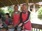 Gary & Peggy, Chiang Mai cooking school, Thailand