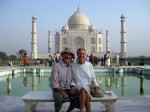 Gary & Peggy, Taj Mahal, India