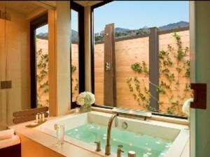 Bardessono bathroom
