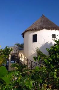 Balumku Inn in Mahahual, Quintana Roo, Mexico