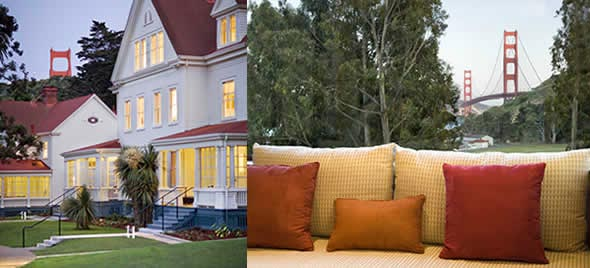 Cavallo Point, the Lodge at the Golden Gate in Sausalito, California, USA