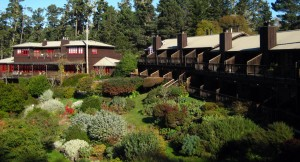 Stanford Inn Eco-lodge in Mendocino, California, USA