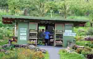 Laulima Farms roadside stand in Kipahulu, Maui, Hawaii, USA