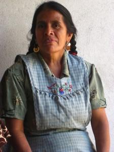 Tamale maker Aurea Contreras Aguilar in Teotitlan, Oaxaca, Mexico