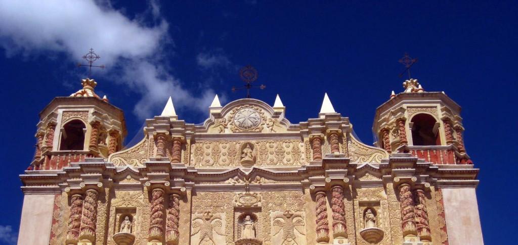 Catedral de San Cristobal in San Cristobal de las Casas, Chiapas, Mexico