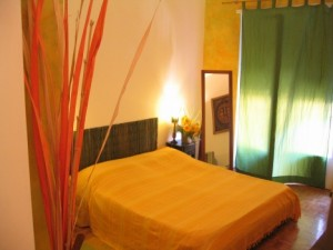 Cheerful bedroom at Bed and Breakfast Bio in Rome, Italy