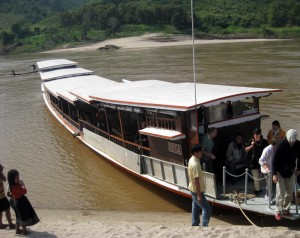 Luang Say riverboat