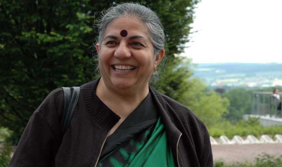 Vendana Shiva is India's Gandhi of green