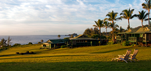 Sea Ranch cottages at Hotel Hana-Maui in Hana, Maui, Hawaii, USA