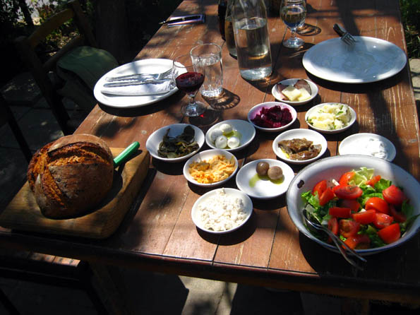 Mezes at 7 St. Georges Tavern in Cyprus