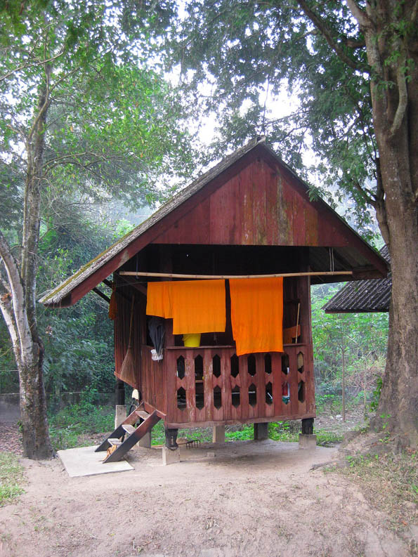 Monks house in northern Thailand