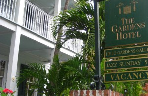Gardens Hotel In Key West, Florida, USA