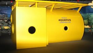 Aquarius exhibit, Florida Keys Eco-Discovery Center in Key West, Florida, USA