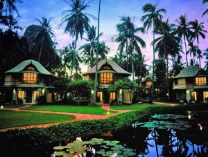 Deluxe Pavillions at Rayvadee Resort & Spa on Phranang Peninsula, near Krabi, Thailand