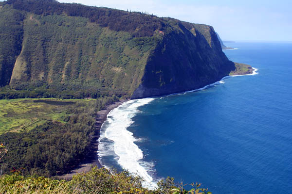 Waipio Valley in the Big Island of Hawaii, USA