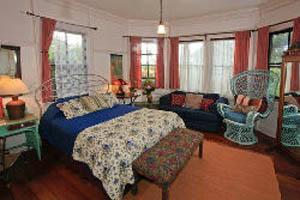 Master bedroom, Kona Wing, Hale Hookipa in Maui, Hawaii, USA