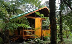 Volcano Village Lodge in Volcano, Hawaii, USA