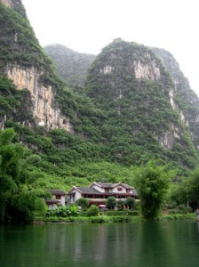 Yangshou Mountain Retreat in Guangxi Province, China