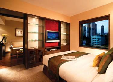 Guest room at Eaton Smart Hotel, Hong Kong - China