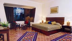 Double room, Gorkarna Forest Resort in Kathmandu, Nepal