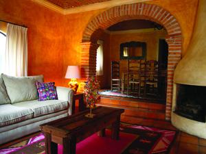 Guest suite at La Puertecita boutique hotel in San Miguel de Allende, Guanajuato, Mexico