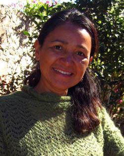 Rosana Alvarez of Via Organica in San Miguel de Allende, Guanajuato, Mexico