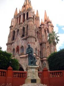 Parroquia in San Miguel de Allende, Guanajuato, Mexico