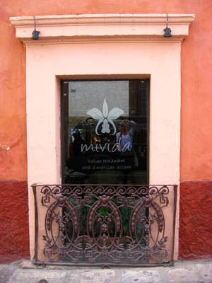 Mivida restaurant in San Miguel de Allende, Guanajuato, Mexico