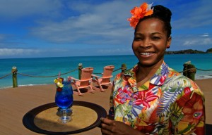 Caribbean cocktail - Galley Bay Resort, Antigua