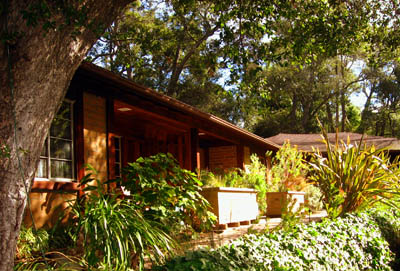 Glen Oaks Big Sur motor lodge in Big Sur, California USA