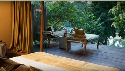 Tented luxury at Banjaar Tola in Kanha National Park, India