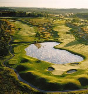 Championship eco-friendly golf, Grand Traverse Resort in Acme, Michigan USA