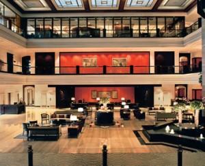 Lobby, Taj Lands End in Mumbai, India
