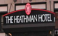 Eco-friendly Heathman Hotel in Portland, Oregon USA