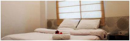 Bedroom, Green Leaf Hotel near New Delhi, India