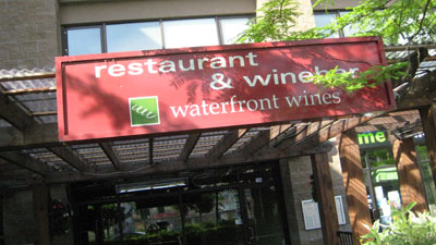 Waterfront Restaurant & Wine Bar in Kelowna, British Columbia, Canada