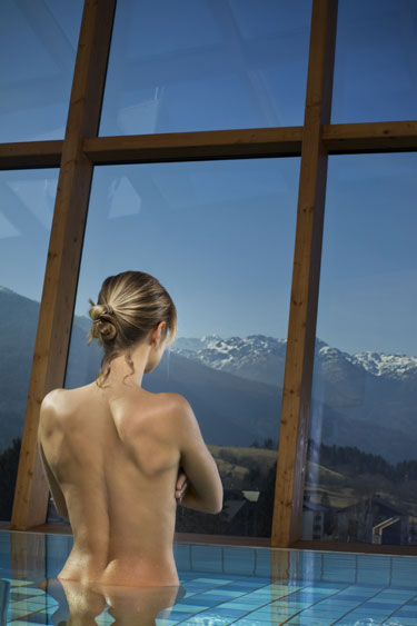 Spa, Bohinj Park Hotel in Triglav National Park, Slovenia