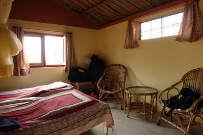 Guest room, Friends of Orchha home stay in Madhya Pradesh, India