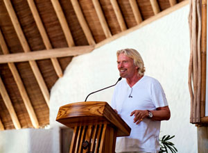 Sir Richard Branson, 2011 SLOWLIFE, Soneva Fushi in the Maldives