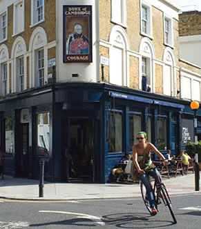 Duke of Cambridge, organic gastropub in London, England