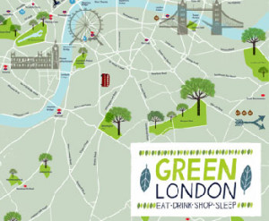 London Green Map