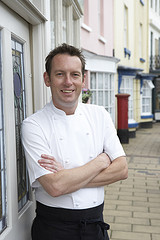 Chef Tim Bouget, Ode in Devon, UK