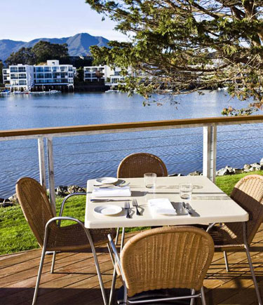 Dining Deck, Piatti Ristorante In Mill Valley, Calif., USA