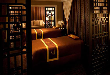 Chuan couple's suite, Spa at the Langham Huntington in Pasadena, Calif., USA