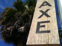 Axe restaurant on Abbot Kinney in Venice, Calif., USA