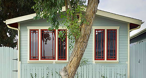 Venice Eco Cottages in Venice, Calif., USA