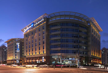 Eco-friendly Radisson Blu in Dubai, United Arab Emirates