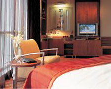 Guestroom, Radisson Blu in Dubai, United Arab Emirates